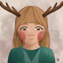 Mi Proyecto del curso: Nara / Ilustración digital con Procreate. Um projeto de Ilustração digital de Lina Yumi Traspaderne - 27.04.2020
