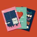 UNICEF · Regalo Azul. Um projeto de Ilustração, Design gráfico e Lettering de David Sierra Martínez - 27.04.2020