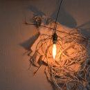私の中    (67 x 101 cm.). Ensamblaje Escultura Arte Diseño Iluminación. Poesía visual. Técnica Upcycling.Artista. INÉS N. MONFIL.. A Design, Lighting Design, Sculpture, Concept Art, and Fiber Arts project by Inés N. Monfil - 04.28.2020