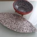 Proyecto final: set decorativo punto y raya . Um projeto de Cerâmica de Mey Perez - 28.04.2020