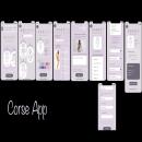 Corsé App: Aplicación movil para diseñar y comprar tu prenda.. Un proyecto de UI / UX de Cynthia Gianella Castro Silva - 29.04.2020