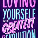 The Greatest Revolution - Women's Day Exhibit. Um projeto de Lettering, Lettering digital, H, lettering e Correção de cor de Lucía Gómez Alcaide - 29.04.2020