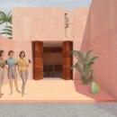 Mi Proyecto del curso: Representación gráfica de proyectos arquitectónicos . Un proyecto de Arquitectura, Arquitectura interior e Ilustración arquitectónica de Marycarmen Murillo - 29.04.2020