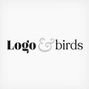 LOGO & BIRDS. Un projet de Design , Br, ing et identité, Illustration vectorielle, Conception d'icônes , et Création de logo de Pablo Fernández Tejón - 30.04.2020