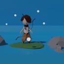 Mi Proyecto del curso: Modelado de personajes low poly para videojuegos . Um projeto de Videogames de Jose Felix Jaquez - 01.05.2020