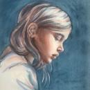 My project in Artistic Portrait with Watercolors course. Un proyecto de Pintura a la acuarela de Alice Serafino - 01.05.2020
