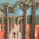 Mi Proyecto del curso: Ilustración de historias con papel. Un proyecto de Collage de Paz Ramos Reyes - 02.05.2020