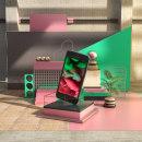 PROYECTO: Composiciones abstractas con Cinema 4D. Um projeto de 3D, Direção de arte, Retoque fotográfico e 3D Design de Camilo Valencia Gonzalez - 04.05.2020