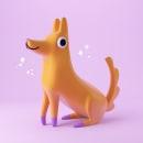 Simple pets. Un progetto di Illustrazione, 3D e Illustrazione infantile di Tati Astua - 05.05.2020