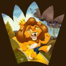 Coward Lion. Um projeto de Ilustração, Design de personagens, Artes plásticas, Desenho, Ilustração digital, Desenho artístico, Ilustração infantil, Desenho digital e Pintura digital de Rafa Gámez - 06.05.2020