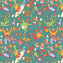 Mi Proyecto del curso: Patterns vectoriales - Alien Pattern. A Illustration, Vector Illustration, and Digital illustration project by Pedro Fernandes - 05.06.2020