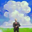 El Hombre del Traje Gris: Serie de Ilustraciones Digital Painting. . Un proyecto de Ilustración y Pintura digital de Eloi F Valle Urbina - 08.05.2020