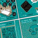 MI reto de cómic experimental / diario dibujado de la cuarentena propuesto por Puño. Um projeto de Comic, Ilustração e Ilustração digital de El otro Samu - 18.05.2020