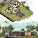 Casa DUO: Ilustración digital de proyectos arquitectónicos. Um projeto de Arquitetura e Ilustração Arquitetônica de joel balderas - 09.05.2020