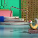 Mi Proyecto del curso: Composiciones abstractas con Cinema 4D. Un proyecto de 3D de montrico - 12.05.2020