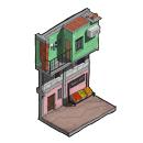 Serie: Puertas de lugares. Un proyecto de Ilustración, Arquitectura e Ilustración arquitectónica de Dardo Molina - 08.05.2020