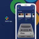 Super Nintendo App - Concept Design. Un proyecto de UI / UX, Br, ing e Identidad, Diseño gráfico, Diseño interactivo y Concept Art de Jose Díaz Baena - 07.03.2020