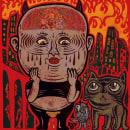 He Became Overexcited. Um projeto de Design, Ilustração e Animação de Isaac López Virgili (Isac Demons) - 12.05.2020