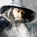 Gandalf, The Badass. Un proyecto de Ilustración digital y Pintura digital de Raoni Buretama de Souza Vidal - 13.05.2020