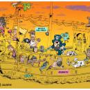 Pura Suerte - Ilustracion Digital - Humor Grafico. Um projeto de Ilustração, Desenho, Ilustração digital, Ilustração infantil, Humor gráfico e Desenho digital de Ezequiel Calone - 12.05.2020
