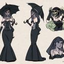 Ficha de Diseño para personaje de Manga. Um projeto de Desenho digital de Jorge Murillo Cucalón - 13.05.2020