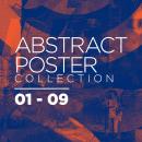 Abstract Poster Collection 01 - 09. Un proyecto de Diseño gráfico, Collage y Diseño de carteles de Daniel Torres - 14.05.2020