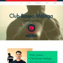 Web Club Boxeo Málaga. Um projeto de Web design de Rocío Yuste Sánchez - 14.05.2020