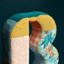 Bobolink logo reinterpretation. Um projeto de Ilustração, 3D, Direção de arte, Br, ing e Identidade, Criatividade, Modelagem 3D, 3D Design e Lettering 3D de Ana Porta - 10.05.2020