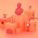Orange attraction. Um projeto de 3D de Hugo Puente - 18.05.2020