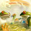 I love this thermal bath. Un proyecto de Pintura digital de Álvaro Cardozo W - 19.05.2020