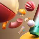 Proyecto del curso: Diseño de sets en 3D para productos. Um projeto de 3D, 3D Design e Retoque fotográfico de Camilo Valencia Gonzalez - 19.05.2020