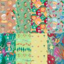 Diseño de patrones ilustrados: Pinocho. Un proyecto de Ilustración, Pattern Design, Dibujo y Dibujo artístico de Laura Núñez - 20.05.2020