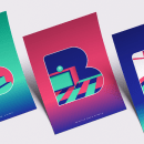 Primero B. Un proyecto de Dirección de arte, Br, ing e Identidad, Diseño gráfico y Diseño de logotipos de Natalia Romero - 19.08.2018