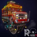 Chiva. Un progetto di 3D, Modellazione 3D, Videogiochi , e Progettazione 3D di Andres Rendón - 20.05.2020