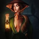 Mi Proyecto del curso: Retratos digitales de fantasía con Photoshop. Un proyecto de Diseño, Ilustración y Pintura digital de Susana Ríos - 20.05.2020