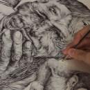 Distorsión de la realidad: Minas Anti-persona. Un progetto di Illustrazione, Illustrazione di ritratto, Illustrazione botanica e Illustrazione con inchiostro di Ricardo Macía Lalinde - 20.05.2020