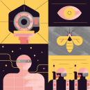 Series T.V.. Um projeto de Design gráfico, Ilustração e Ilustração digital de Stereoplastika - 21.05.2020