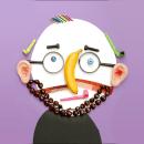 My project in Creativity Face to Face: A Playful Collage Journey course. Um projeto de Ilustração, 3D, Design de personagens, Artesanato, Colagem, Ilustração de retrato, DIY e Criatividade para crianças de Hanoch Piven - 21.05.2020