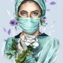 ¡Gracias!. Un proyecto de Dibujo de Retrato y Pintura a la acuarela de Mary Orsini - 21.05.2020