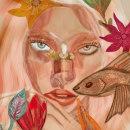 Mi Proyecto del curso: Retrato ilustrado en acuarela. Um projeto de Artes plásticas de Mariajosé Pina - 21.05.2020