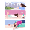Quarantine Moods. Un proyecto de Animación 2D de Rose Villacorta - 11.04.2020