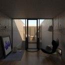 Azuma House. Um projeto de 3D, Arquitetura e Arquitetura de interiores de Angel Pérez - 18.02.2020