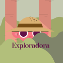 Exploradora. A Animation, Graphic Design, and 2D Animation project by fabiolalunata - 05.22.2020