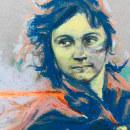 Miliciana. Un proyecto de Ilustración, Dibujo, Ilustración de retrato, Dibujo de Retrato y Dibujo artístico de Jose María San Antonio Alvarez - 24.05.2020