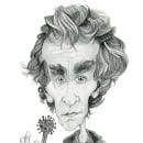 Mi Proyecto del curso: Retrato en caricatura con grafito. A Illustration, Character Design, and Pencil drawing project by Jorge Laffarga Gómez - 05.24.2020