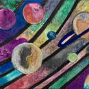 Galáxia01. Un proyecto de Pintura a la acuarela de Rosa Benchimol - 24.05.2020