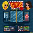 2 BROKE GIRLS. Un proyecto de Ilustración, Diseño gráfico, Lettering, Ilustración digital, Diseño digital y Dibujo digital de Ed,Edd & Eddo - 24.05.2020