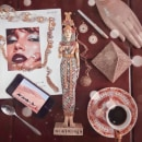 Fotografía Experimental: Lujo y Belleza. Un proyecto de Fotografía, Moda, Diseño de moda, Fotografía con móviles, Fotografía de moda, Fotografía de retrato, Fotografía artística, Fotografía para Instagram y Composición fotográfica de Andrés Felipe Vera Alzate - 25.05.2020