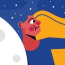 Gravity. Um projeto de Ilustração, Design gráfico, Ilustração vetorial, Ilustração digital, Concept Art e Ilustração infantil de Wilfred Diaz - 18.05.2020