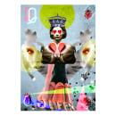 Ilustraciones para ´La Reina de Diamantes´ - Papelería. Un proyecto de Ilustración, Diseño gráfico, Packaging, Collage y Creatividad de INMANTADAGRAFIK - 25.03.2018